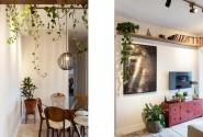 Detalhe - Sala de Jantar e Estar