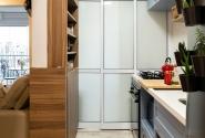 Vista lateral - Cozinha