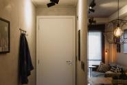 Depois: Entrada apartamento.