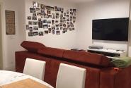 Antes: Vista sala de tv.