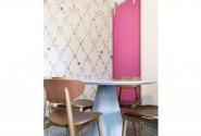 Sala de Almoço-Detalhe mobiliário.