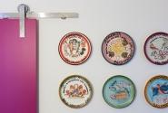 Sala de Almoço-Detalhe Prato da Boa Lembrança.