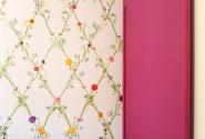 Sala de Almoço-Detalhe estampa x cores.