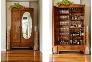 Bar da casa - antigo armário.