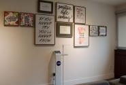 Vista geral dos quadros da Sala da Nutri.