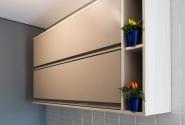 Detalhe armário cozinha.