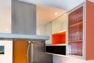 Continuação de marcenaria existente-Cozinha.