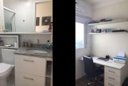 Antes: Banheiro + Escritório.