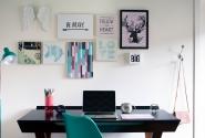 Quarto Vale-Detalhe escrivaninha.
