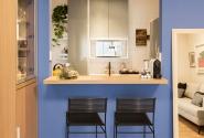 Depois - Vista abertura cozinha.